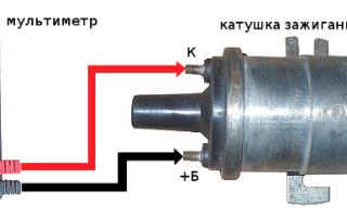 Как проверить катушку зажигания ваз