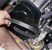 Ремень генератора ваз 2110 8 клапанов