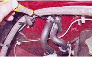 Ваз 2107 замена радиатора печки
