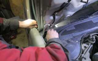 Замена втулок стабилизатора рено меган 2