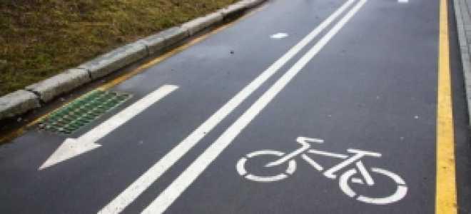 Велосипедная дорожка знак, история появления, наше время, разновидности велодорожек