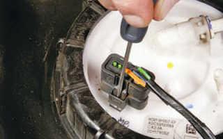 Замена бензонасоса на форд мондео 4