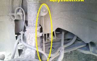 Замена стоек стабилизатора на шевроле лачетти