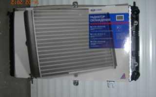 Ваз 2110 замена радиатора охлаждения