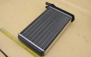 Ваз 2109 замена радиатора печки
