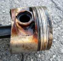 Залегли кольца в двигателе что делать
