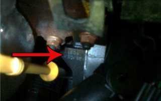 Номер двигателя на шевроле круз