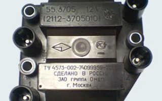 Модуль зажигания ваз 2110 признаки неисправности