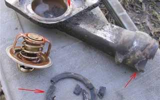 Как поменять термостат на нексии