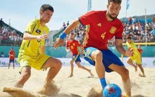 Пляжный футбол. Игра и правила. Инвентарь и особенности