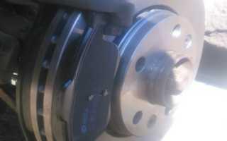 Замена тормозных дисков рено флюенс