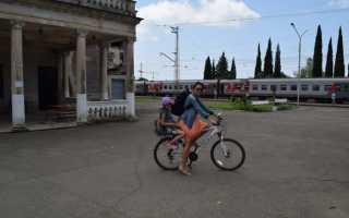 Как перевезти велосипед в поезде