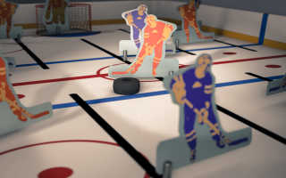 Настольный хоккей. Правила матчей и комплектация. Особенности