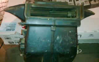 Печка ваз 21099 высокая панель устройство