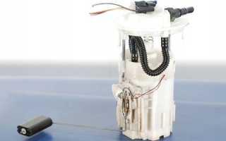 Замена топливного насоса рено логан