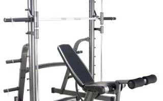 Тренажер Смита. Конструкция и упражнения. Плюсы и минусы