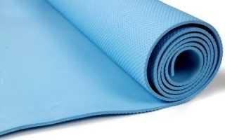 Коврик для йоги. Виды и характеристики. Как выбрать. Материал