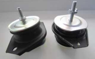 Ваз 2110 замена подушек двигателя